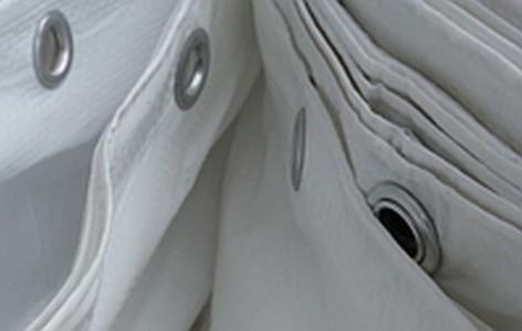 Полог Тарпаулин3,3Х50М 210Г/М.КВ белый