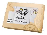 Комплект свадебных полотенец