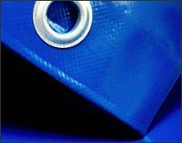 Тент для строительства ПВХ с люверсами 3*6М 650Г/м2 синий