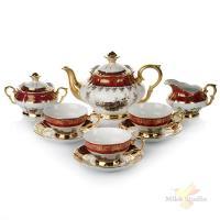 Чайный сервиз на 6 персон, 15 предметов