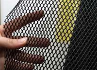 Пластиковая сетка для защиты газона от кротов 2*30м черная Г-9