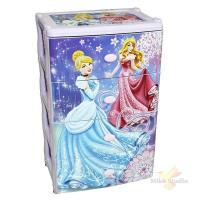 Комод широкий 4-х секционный Принцессы-Дисней, 560*425*905 мм (для девочек)