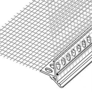 Угловой элемент с сеткой 10*15см