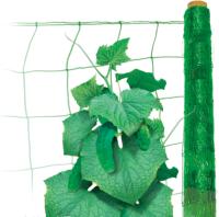 Шпалерная поддерживающая сетка2м х 5м хаки Ф-170
