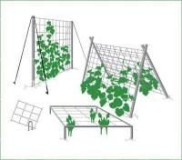 Опора для вьющихся растений2х500мХакиФ-170