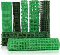 Пластиковая садовая решетка24*24мм 0,5*5мХаки-ЗеленаяФ-24