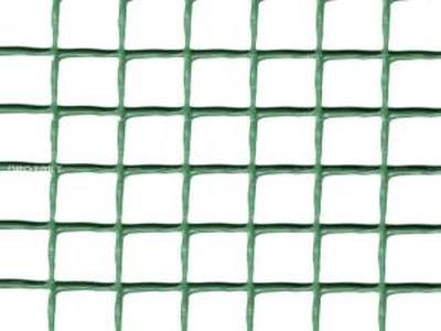 Пластиковая садовая решетка90*90мм 1х5мХакиФ-90
