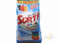 Стиральный порошок Sorti автомат Колор 6000 г. м/у /2 шт. 184-5/704-5
