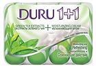 Мыло Дуру 1+1 Зеленый чай 4*90гр.,S-261/24шт.