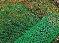 Пластиковая садовая решетка45*50мм 1*5мХаки-ЗеленаяФД-45
