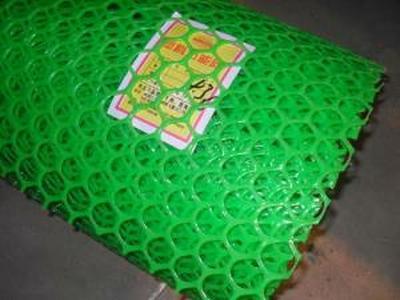 Садовая решётка из пластика17*17мм 1*10мЗеленаяФ-17