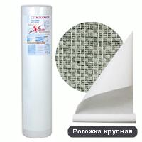 Стеклообои X-Glass Silver Рогожка крупная (25м)