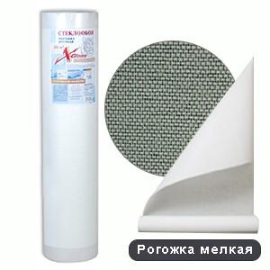 Стеклообои X-Glass Silver Рогожка мелкая потолочная (50м)