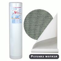 Стеклообои X-Glass Silver Рогожка мелкая потолочная (25м)