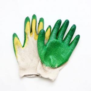 Перчатки с двойным плотным эластическим покрытием10шт/упак