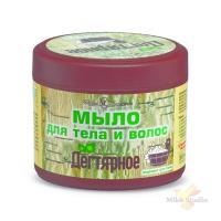 Дегтярное мыло для тела и волос 300мл/16 шт./16404