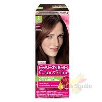 Краска для волос Гарнье Колор Шайн 5.0 Светло-каштановый/3 шт./2854111/