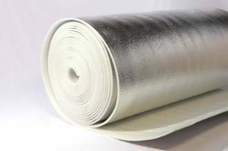 Теплоизоляция металлизированная самоклеющаяся ЛМ 10СК (1,2*15м)