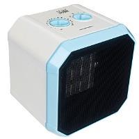 Тепловентилятор DELTA D-0304 голубой (6): 1500 Вт