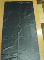 Хозяйственный мешок с завязкой черный 0,9*1,1м