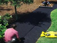 Спанбонд для ландшафтных работ мульчирующий черный 1,6*50м 60гр