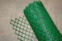 Забор садовый пластиковый 1,2*10м зеленый