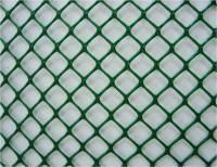 Сетка пластиковая садовая 1,5*25м  хаки 70*58