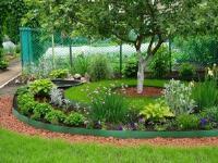 Лента бордюрная садовая для газона 20СМ, 30М зеленая