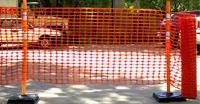 Сетка барьер оградительная 1,2х50м (100г) оранжевая