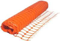 Сетка барьер оградительная 1,5х50м (140г) оранжевая