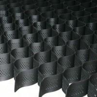 Полимерная объемная георешетка для укрепления откосов 2,4*5,25М черная высота 15 см