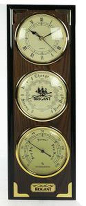 "Часы-метеостанция ""BRIGANT"": баромерт, термометр, гигрометр 28*106см (уп.1/4шт.)"
