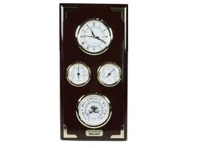 "Часы-метеостанция ""BRIGANT"": барометр, термометр, гидрометр 28*106см (уп.1/4шт.)"