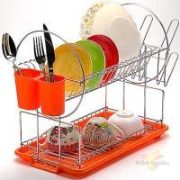 Сушилка для посуды 43х9см ХРОМ МВ