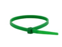 Хомут кабельный (стяжка) 20см (100шт/уп) Зеленый