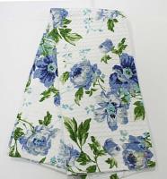 Полотенце голубое, 40*60 см,