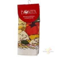 Полотенце 44*59 Bonita, вафельное, Натюрморт Сыры