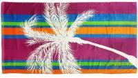 Полотенце пляжное 75*150 Bonita, махровое, Пальма