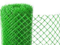 Заборная решетка пластиковая З-40 1,5*10м (Зеленая)
