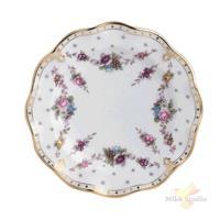 Тарелка мелкая «Роял Антуанетт»; фарфор; D=16см; белый
