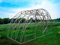 Каркас теплицы Урожай Профи 4м без поликарбоната
