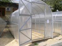 Каркас теплицы Урожай Эконом 4м без поликарбоната