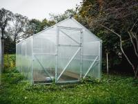 Каркас теплицы Урожай Классик 4м без поликарбоната