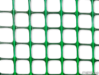 Сетка для палисадника Ф-20 20*20мм 1*10м (Хаки-Зеленая)