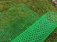 Заборная решетка пластиковая З-32 2*15м (Хаки)