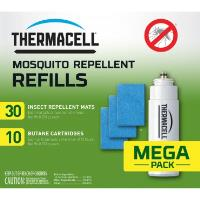 ThermaCell Набор запасной Thermacell Mega Refill (10 газовых картриджей + 30 пластин)