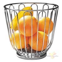 Корзина д/фруктов; сталь нерж.; D=21.5,H=20.5см