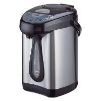Чайник-термос DЕLTA DL-3006 черный/нерж. (6): 750 Вт, 3,8 л