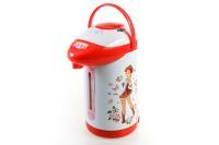 Чайник-термос ВАСИЛИСА ТП1-750 ДЕВИЦА (6): 750 Вт, 3,5 л, корпус и внутр. емкость нерж., (Россия)