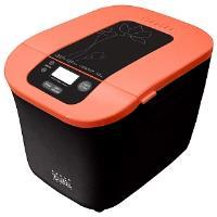 Хлебопечь DELTA DL-77B чёрная с оранжевым (2) 560 Вт, вес бухан. 500 г, 8 режимов